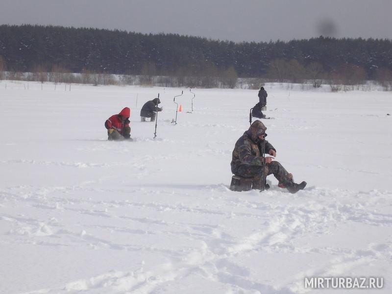 Зимняя рыбалка в Волгоградской области